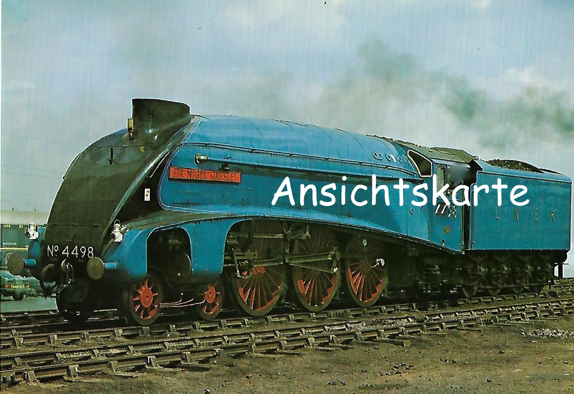 "British Railways Schnellzug-Lokomotive Nr. 4498 ""Sir Nigel Gresley"". (1285)"