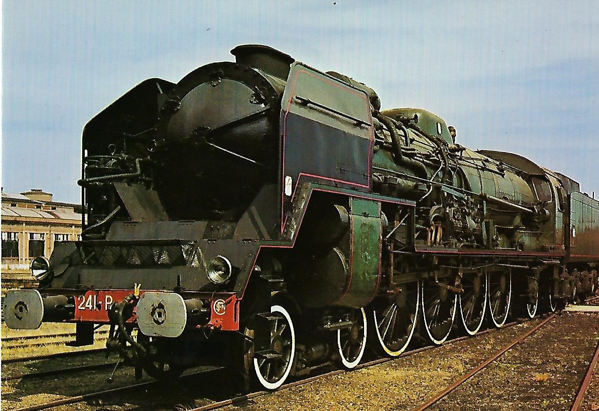 Französische Staatsbahnen Est 241 Schnellzug-Lokomotive SNCF 241 P. (1286)