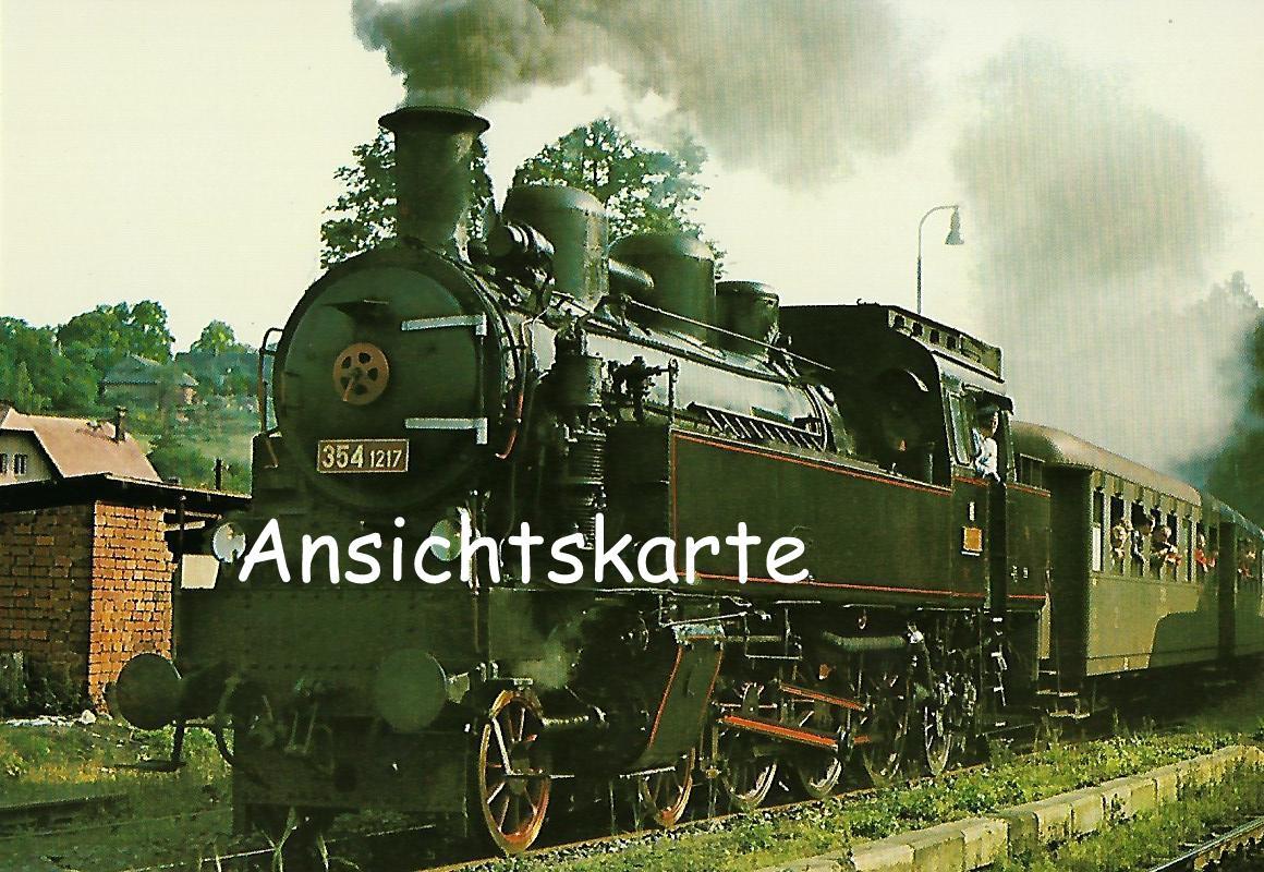 ČSD Dampflokomotive 354.1217 (1290)