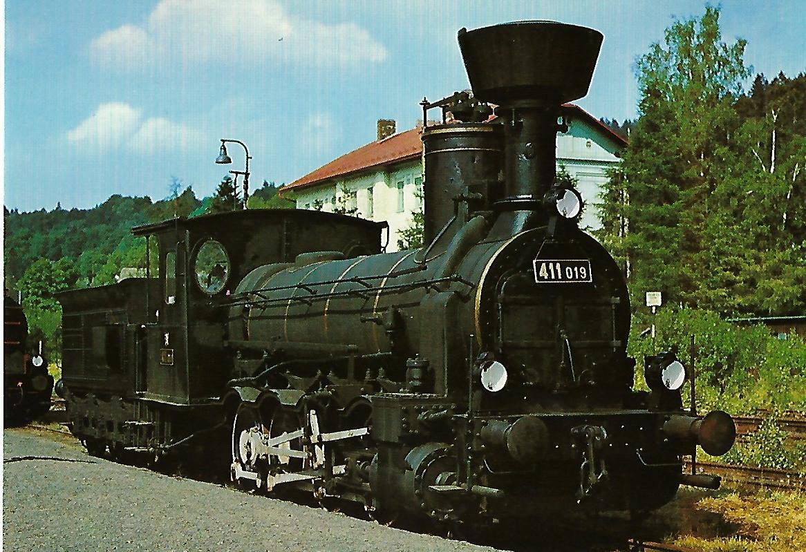 ČSD Dampflokomotive 411.019. (1292)