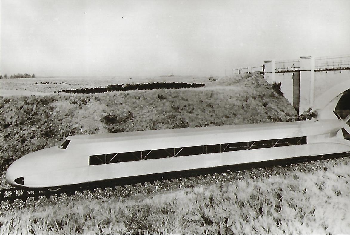 Schienenzeppelin. Eisenbahn Bestell-Nr. 1297