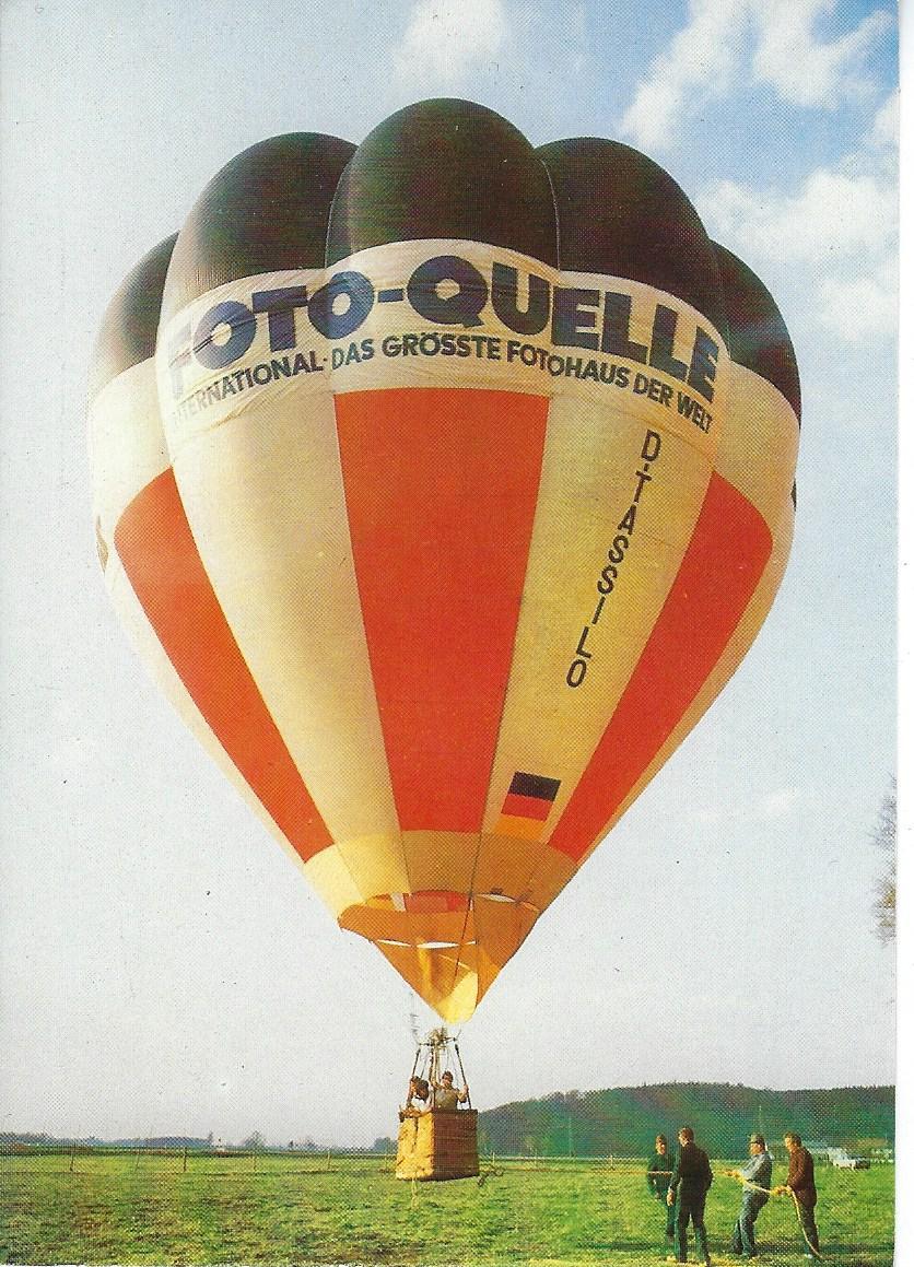 Heißluftballon D – TASSILO
