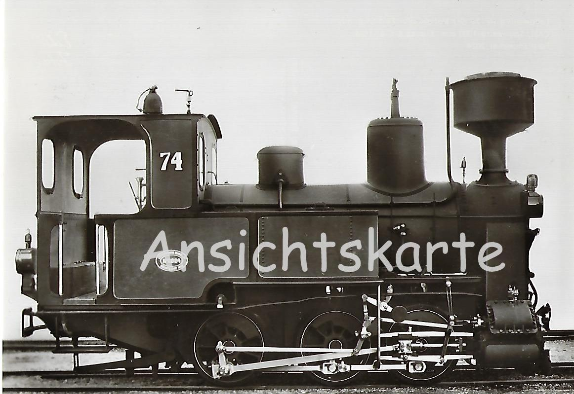 Nebenbahn Zell-Todtnau Lokomotive Nr. 74. (5100)