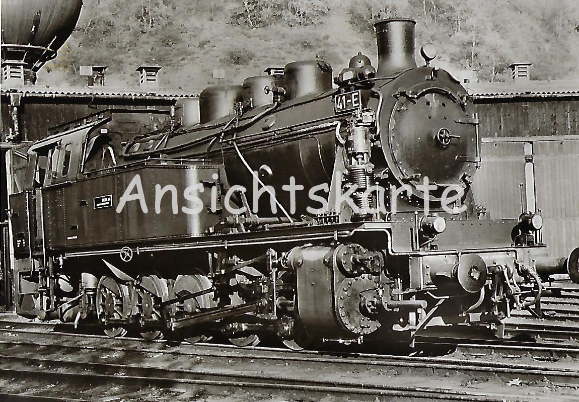 Lokomotive 41-E der Bergbau AG Herne / Recklinghausen (5117)