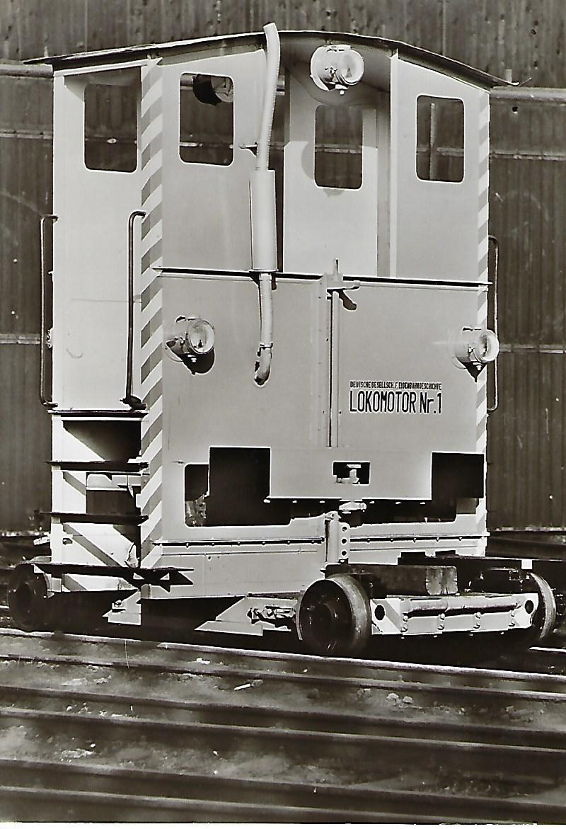 Lokomotive Nr. 1, Rangiergerät. (5123)
