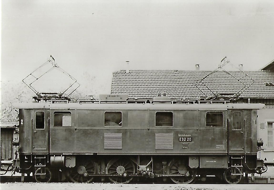 Lokomotive E 32 20 der Deutschen Bundesbahn (5125)