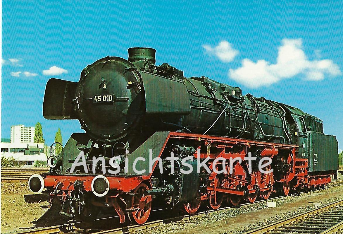 Güterzug-Lokomotive 45 010 der Deutschen Bundesbahn (5142)
