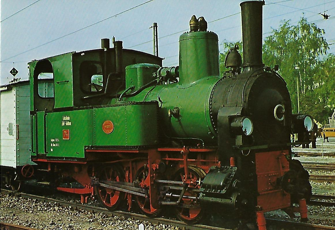 Lokomotive Nr. 74 der Nebenbahn Zell-Todtnau. (5150)