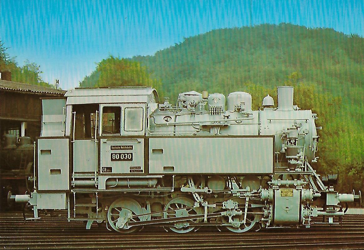 Güterzug-Tenderlokomotive 80 030. Eisenbahn Bestell-Nr. 5154