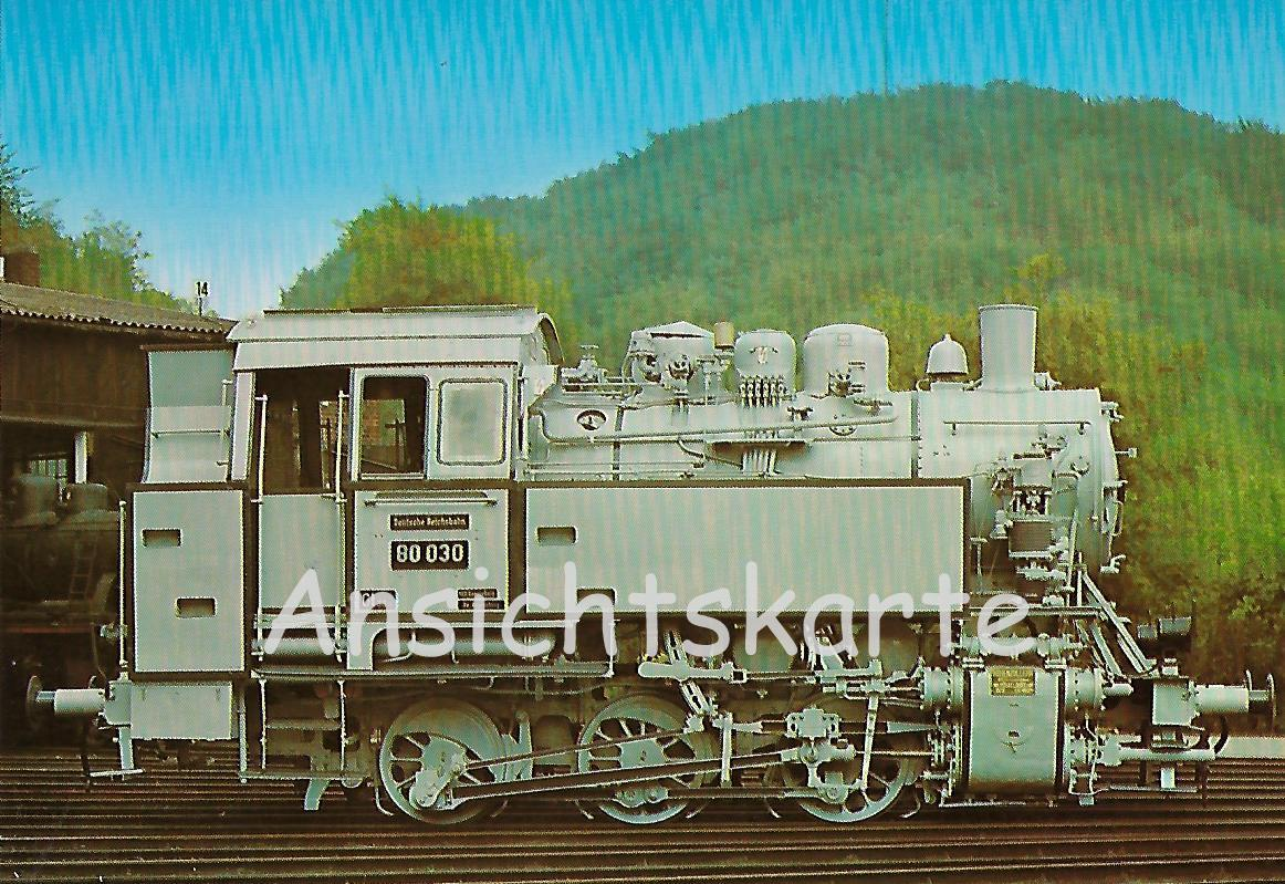 Güterzug-Tenderlokomotive 80 030. (5154)