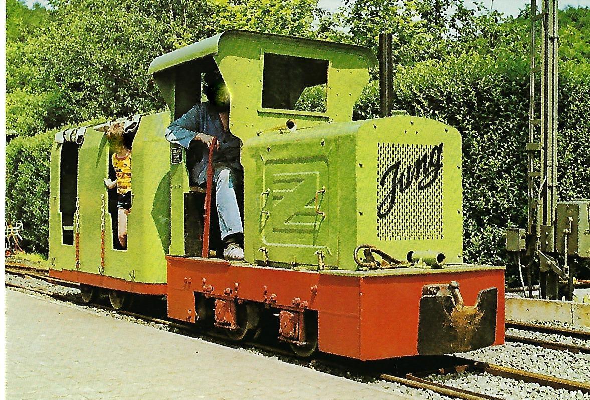 Feldbahn-Lokomotive Nr. 2. (5158)