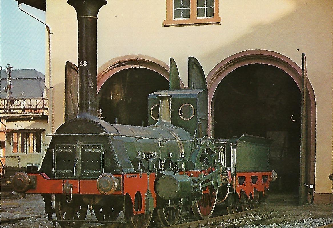 Lokomotive Nr. 28 der Pfalzbahn. (5159)