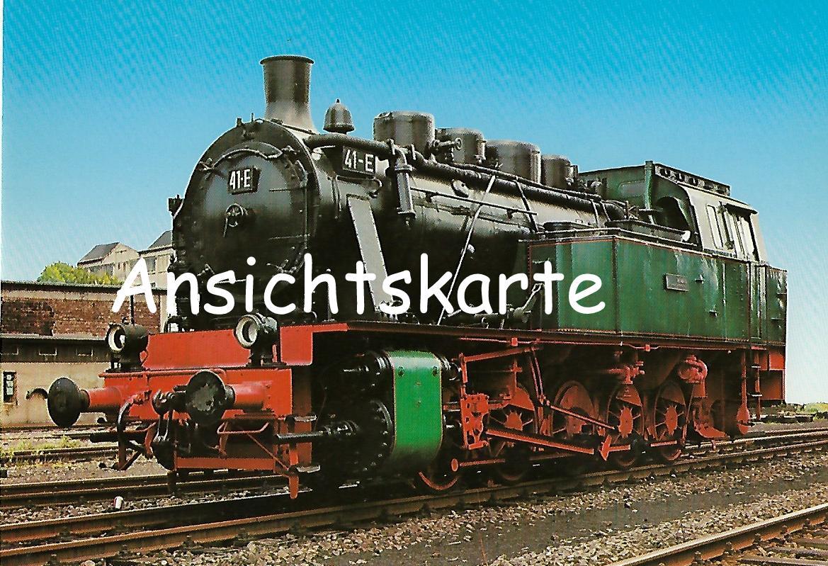 Dampflokomotive 41-E. (5167)