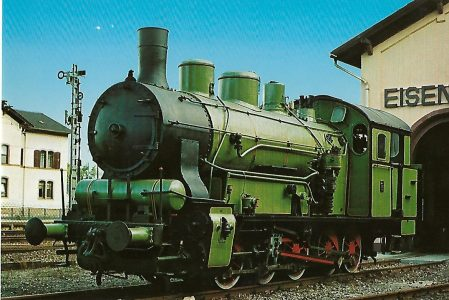 "Tenderlokomotive T 5 ""Carl Alexander Nr. 3"". Eisenbahn Bestell-Nr. 5169"