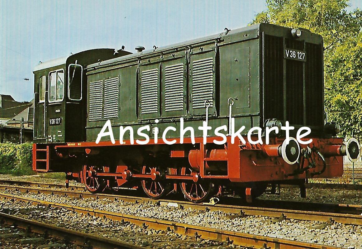 Diesellokomotive V 36 127. (5171)