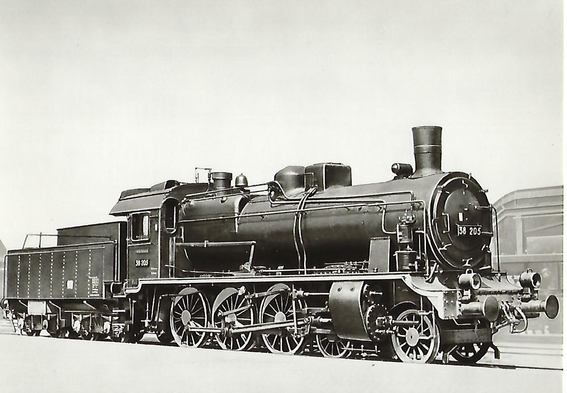 Dampflokomotive BR 382-3. (5191)
