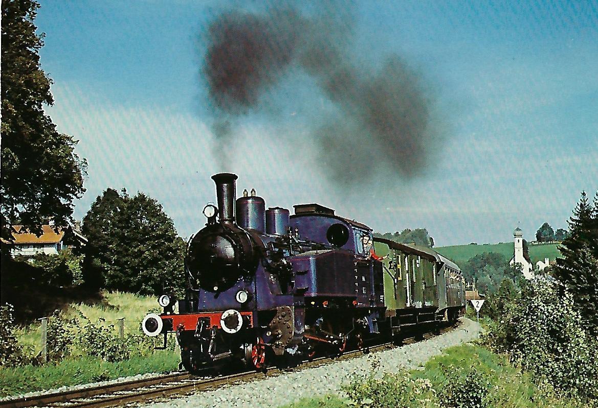 Tegernseebahn-AG Dampflokomotive Nr. 7. Eisenbahn Bestell-Nr. 10205