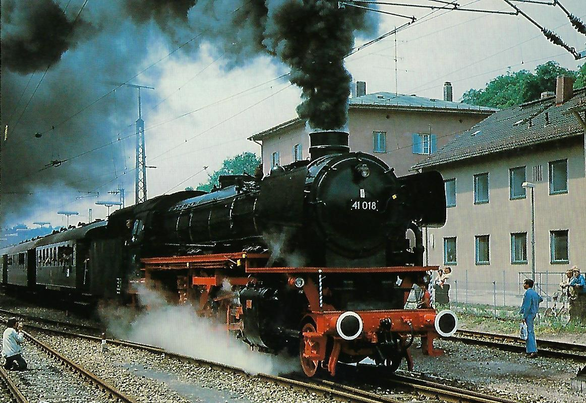 IG 41 018 e.V., Eilgüterzuglokomotive. (10244)