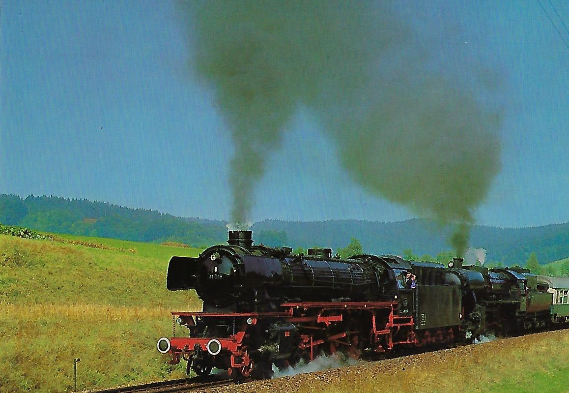 IG 41018 e.V. Eilgüterzug-Lokomotive. (10247)