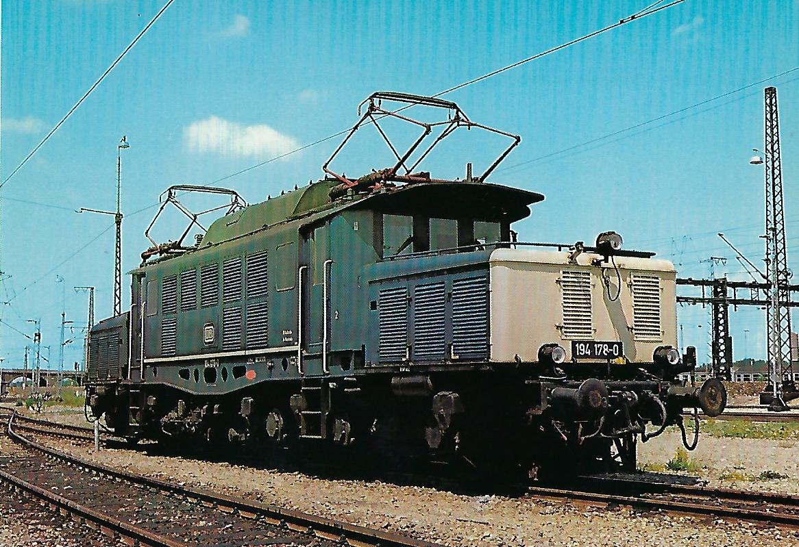 194 178-0 Elektrische Güterzuglokomotive. (10270)