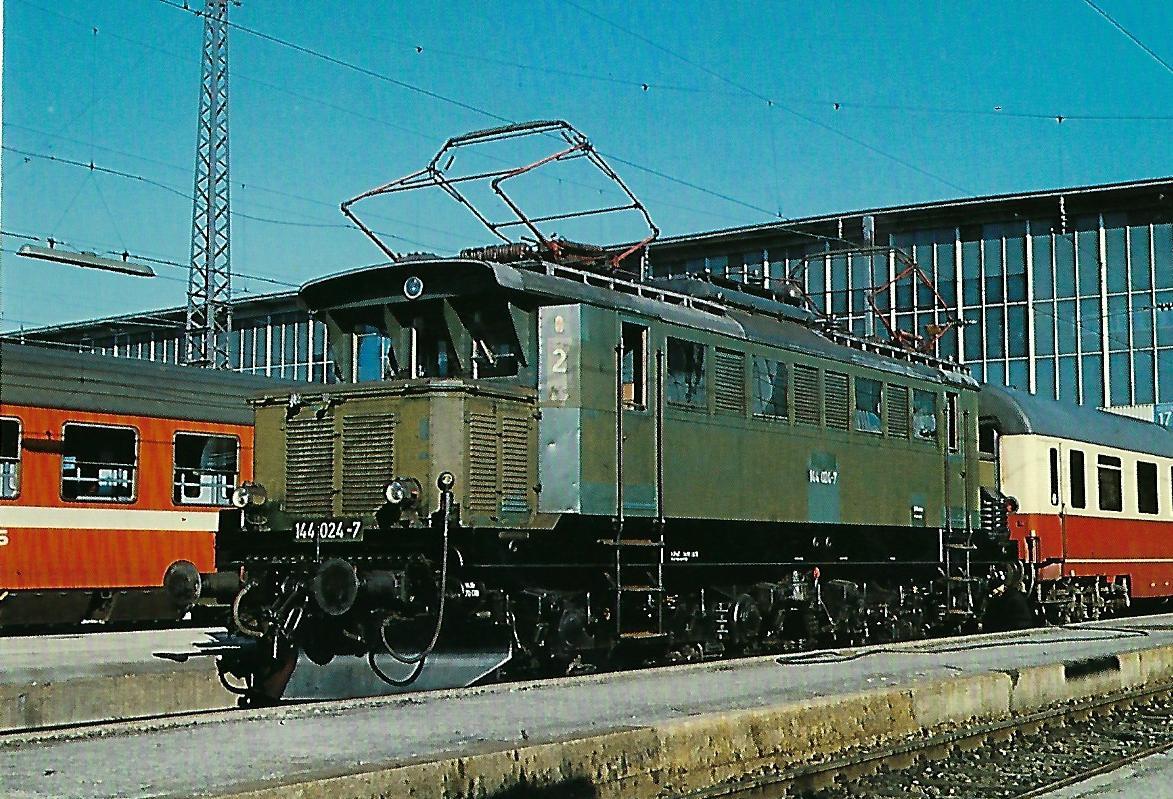 144 024-7 Elektrische Mehrzwecklokomotive. (10277)