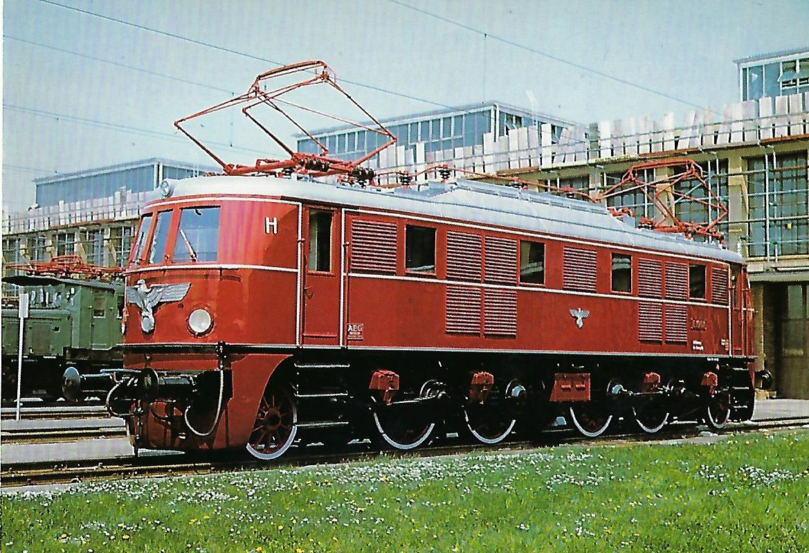 E 19 01 Elektr. Schnellzuglokomotive. (10281)