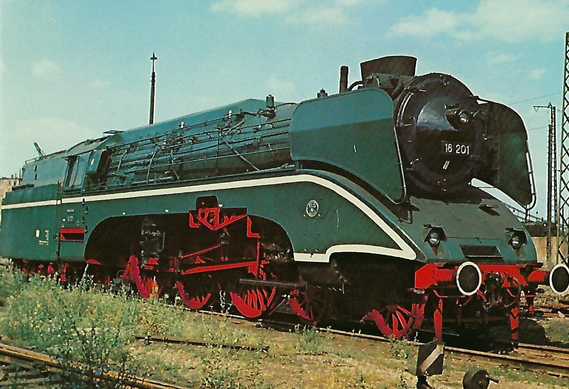 DR 18 201 Schnellzuglokomotive. (10290)