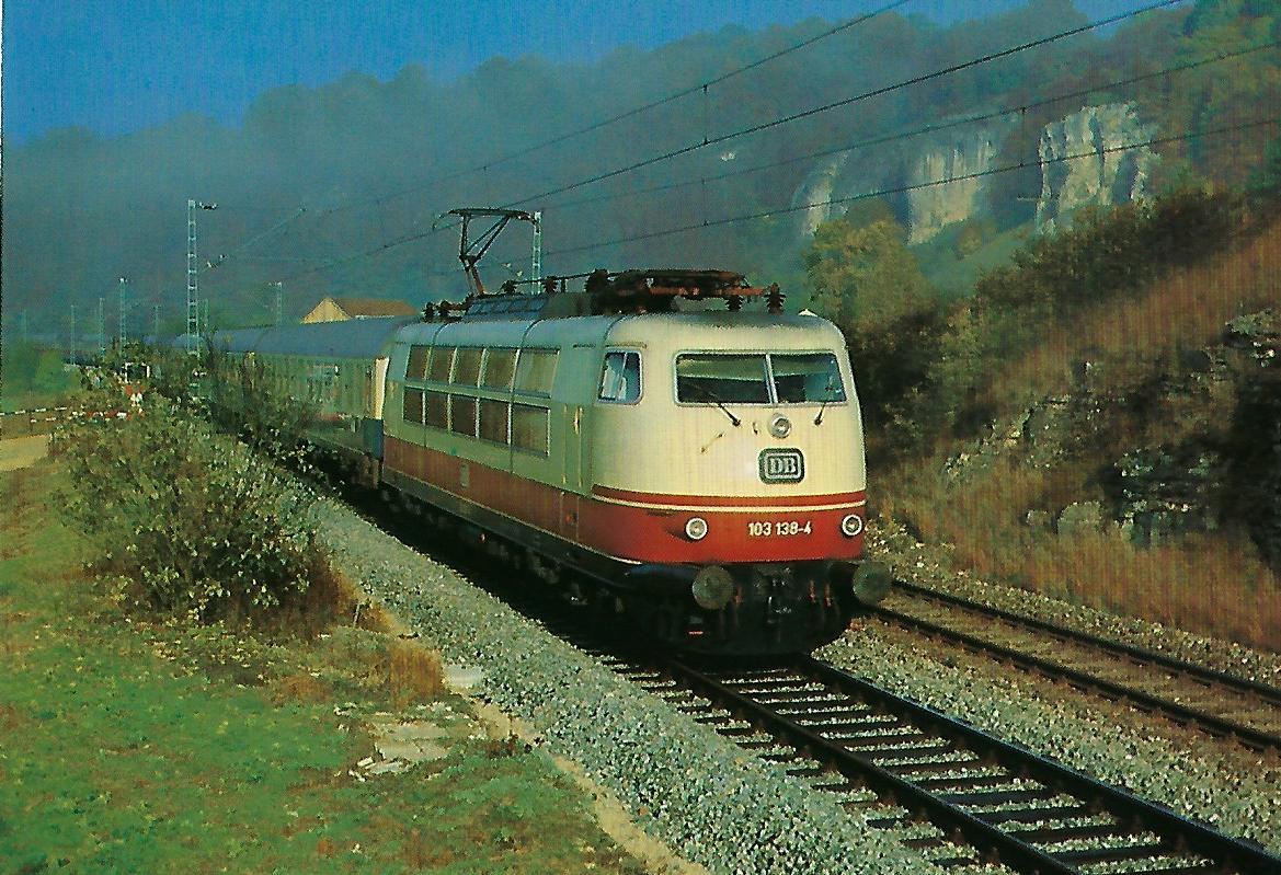DB-Baureihe 103. (10301)