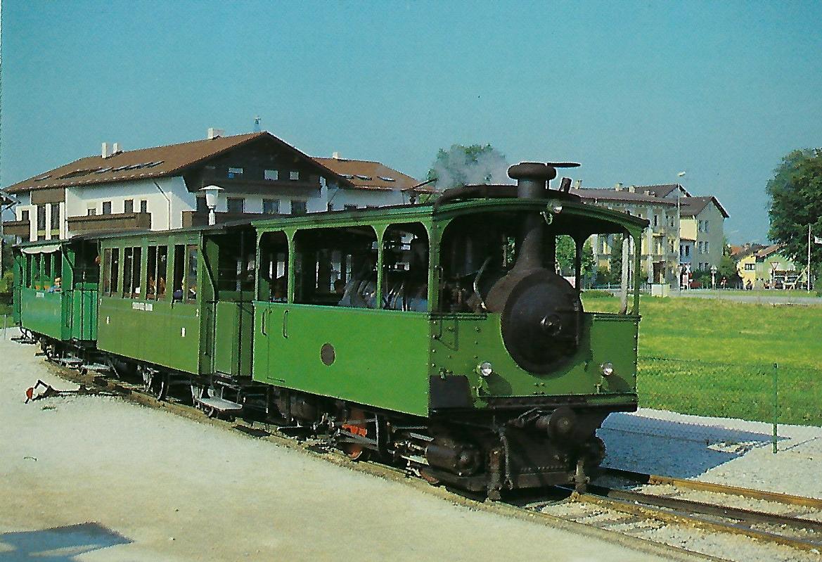 Chiemsee-Bahn. Dampflokomotive Krauss + Co. 1887. (10316)