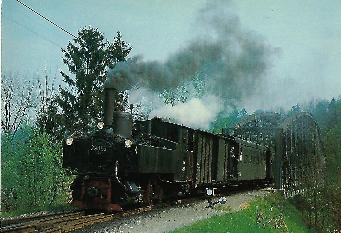 ÖBB 298.56 bei Waldneukirchen. Eisenbahn Bestell-Nr. 10329