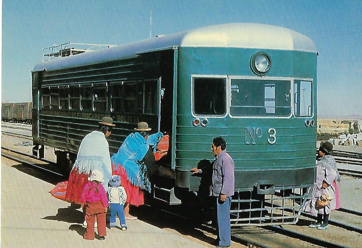 V-Triebwagen Nr. 3, Bolivien. (10334)