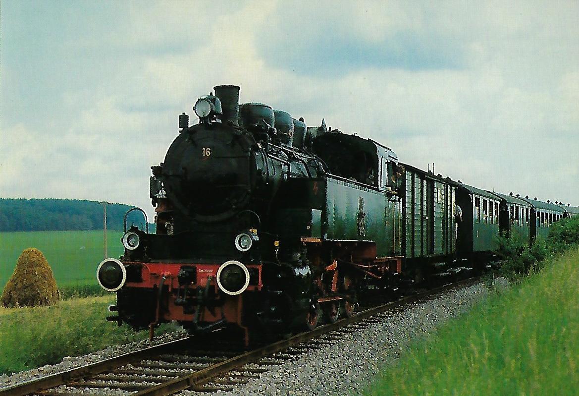 DR 92 442 Dampflokomotive. (10339)
