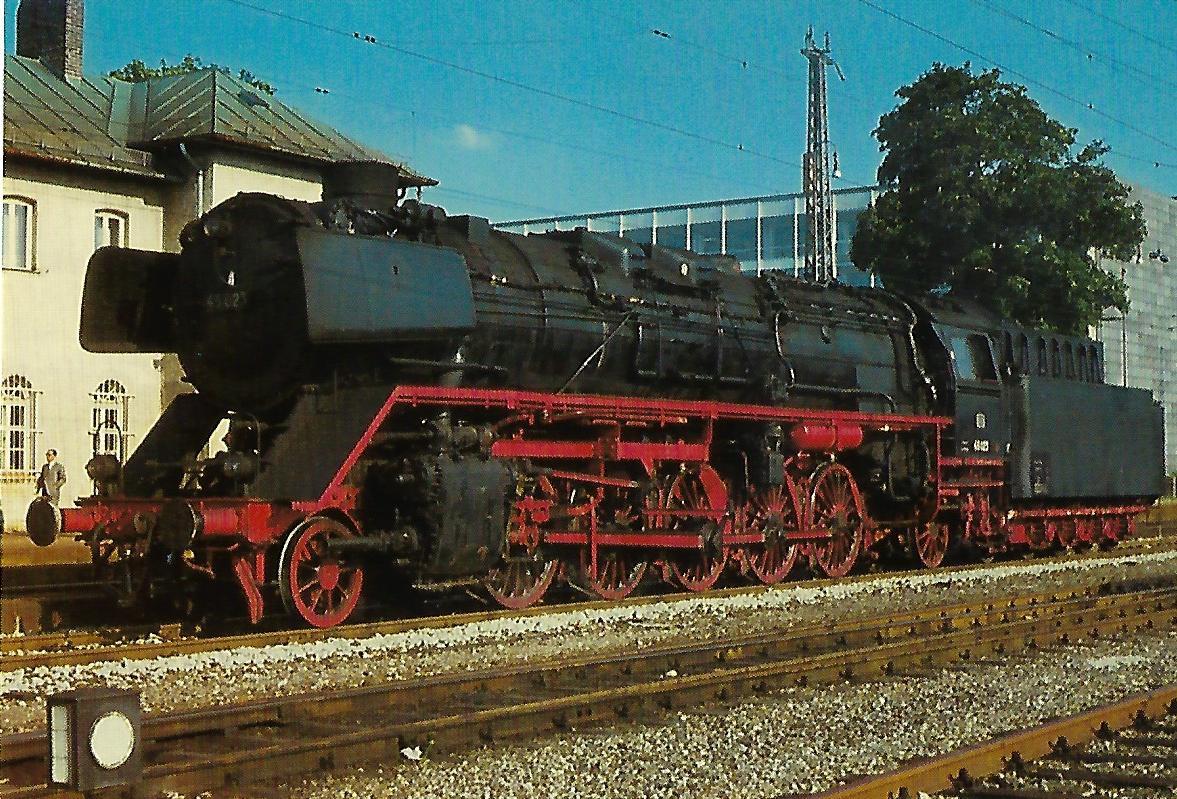 DB, Güterzug-Dampflokomotive 45 023. (10356)