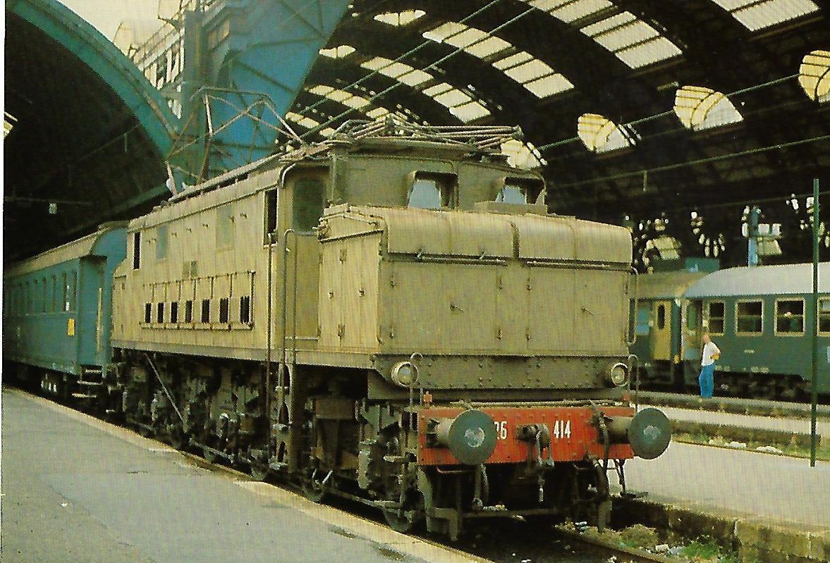 FS, elektrische Lokomotive 626.414. (10365)