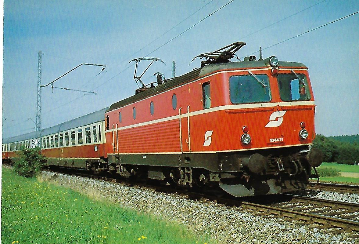 ÖBB, elektr. Schnellzuglokomotive 1044.21. (10367)