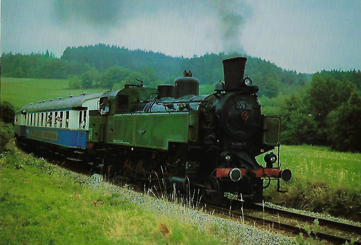 BLV Dampflokomotive 378.32. Eisenbahn Bestell-Nr. 10368