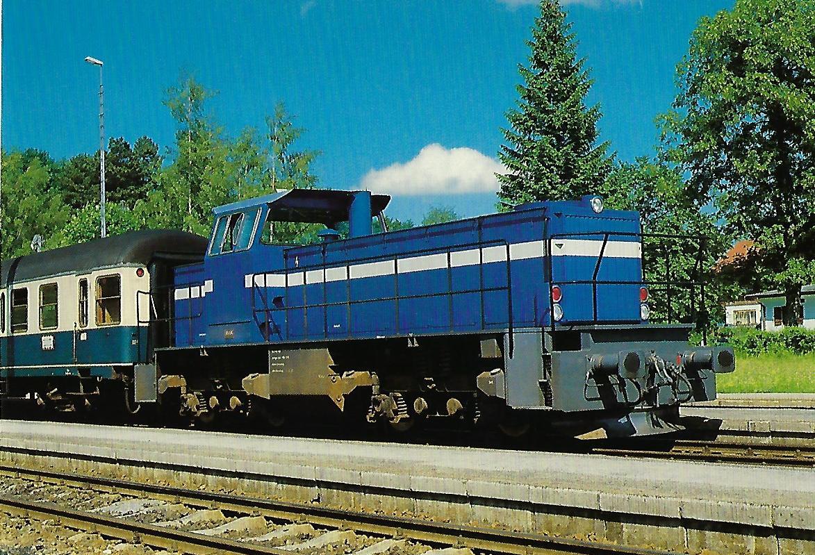 Tegernseebahn-AG , Diesellokomotive Nr. 14. (10374)