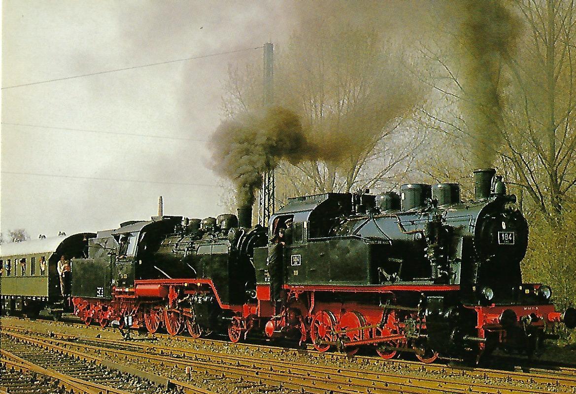 DME 184, ELNA 6 und 24009 in Kahl, Main. (5221)