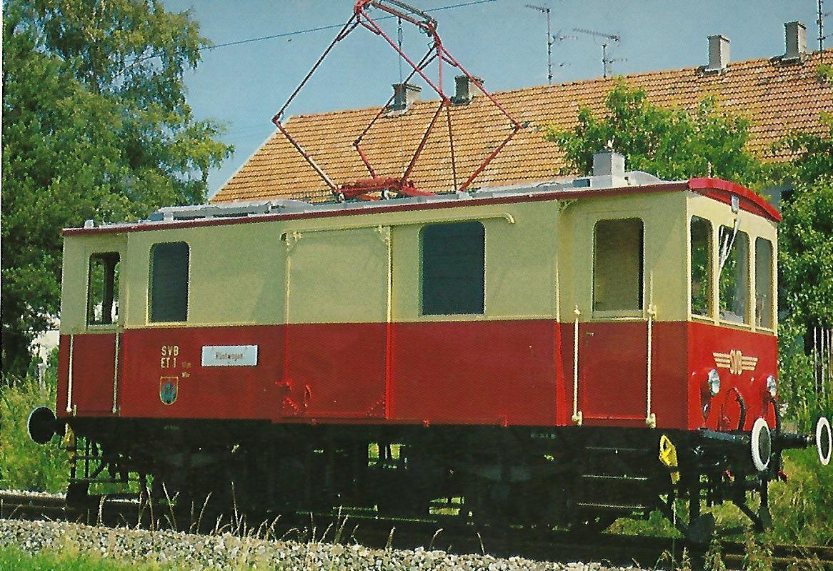 ET 1, Bj. 1910/19 Salzburger Stadtwerke – Verkehrsbetriebe – Lokalbahn (SETG-SVB). (5223)