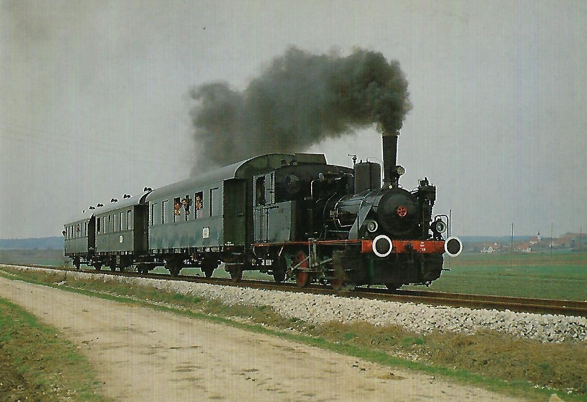 """Lok 3 """"LUCI"""" bei Monheim-Fünfstetten. (5303)"""