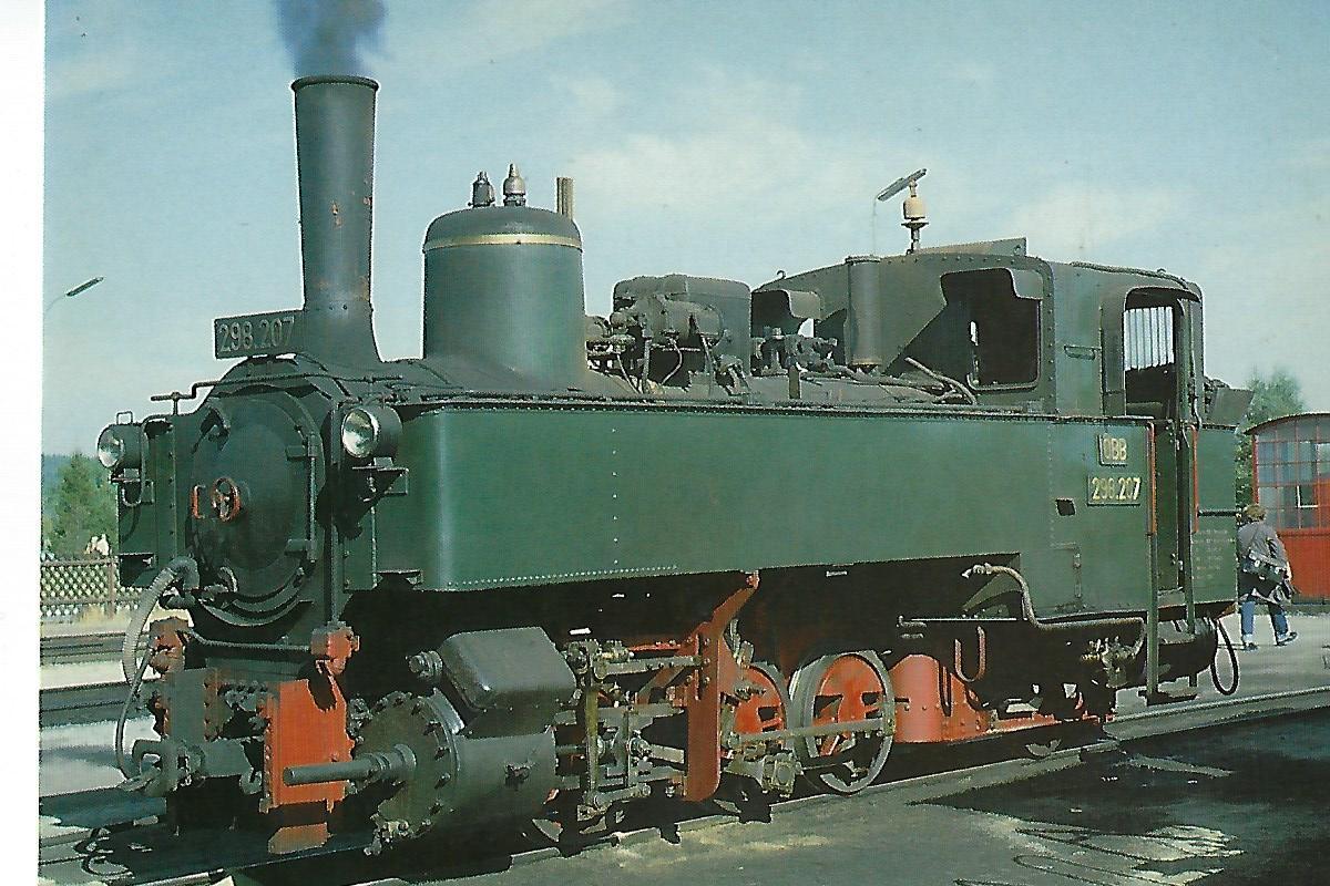 ÖBB 298.207 in Gmünd/OÖ. (5321)