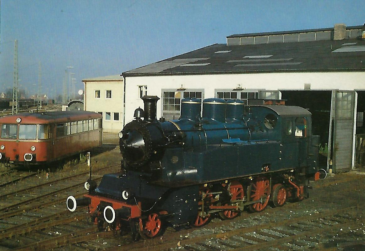 Lok 8 der Tegernseebahn. (5356)