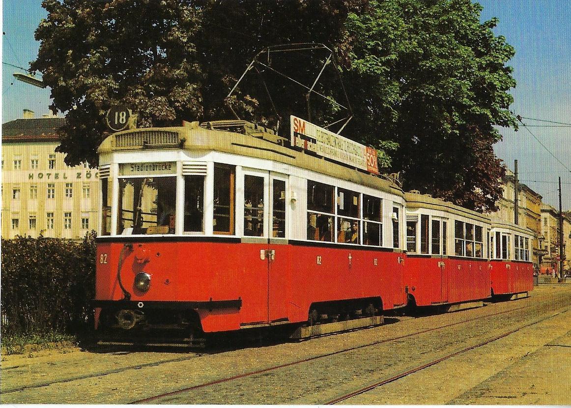Wiener Verkehrsbetriebe (WVB). Straßenbahn Bestell-Nr. 90654