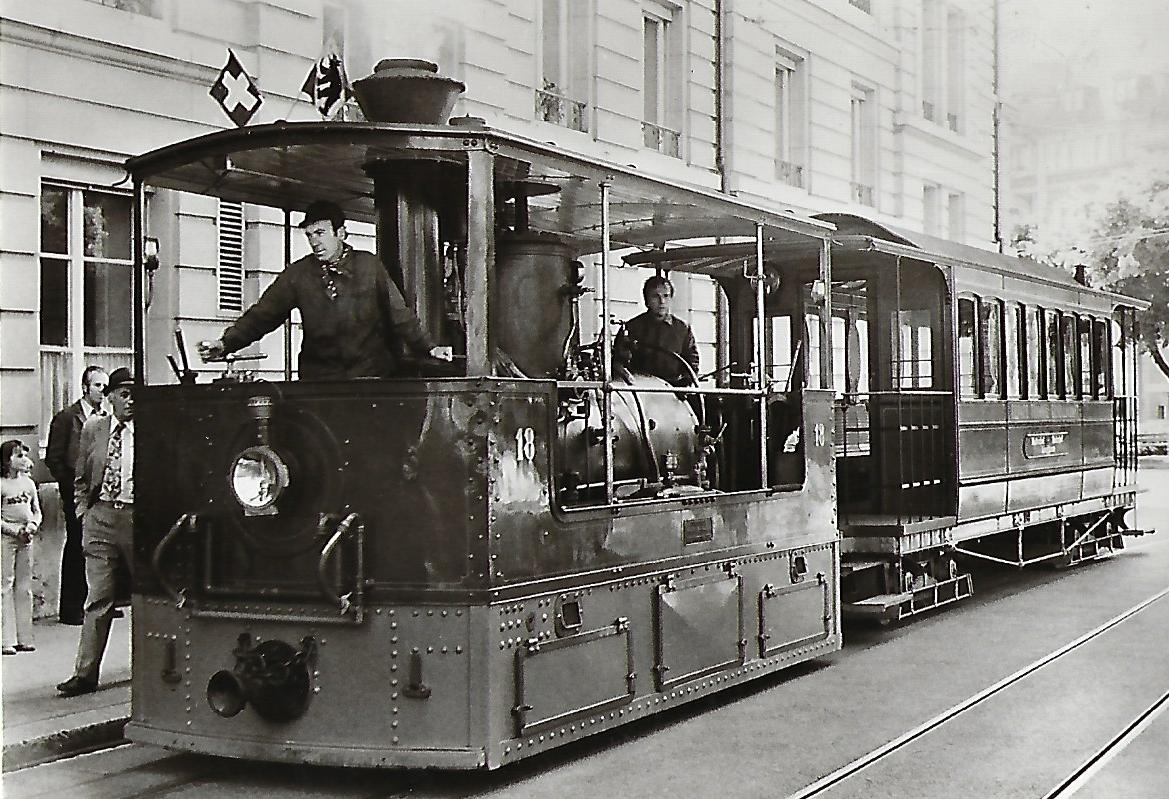 Städtische Verkehrsbetriebe Bern. Dampflokomotive Nr. 18. (91196)