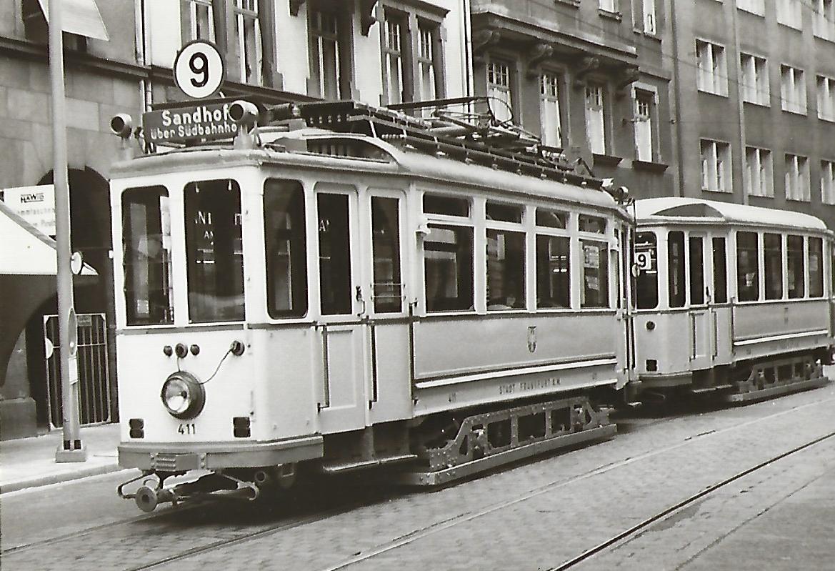 Frankfurt am Main. Museumszug F-Tw 411 (91229)