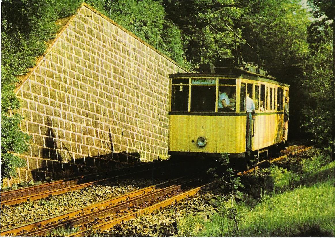 Wuppertaler Stadtwerke AG, Zahnradbahnwagen Nr. 5 (96054)