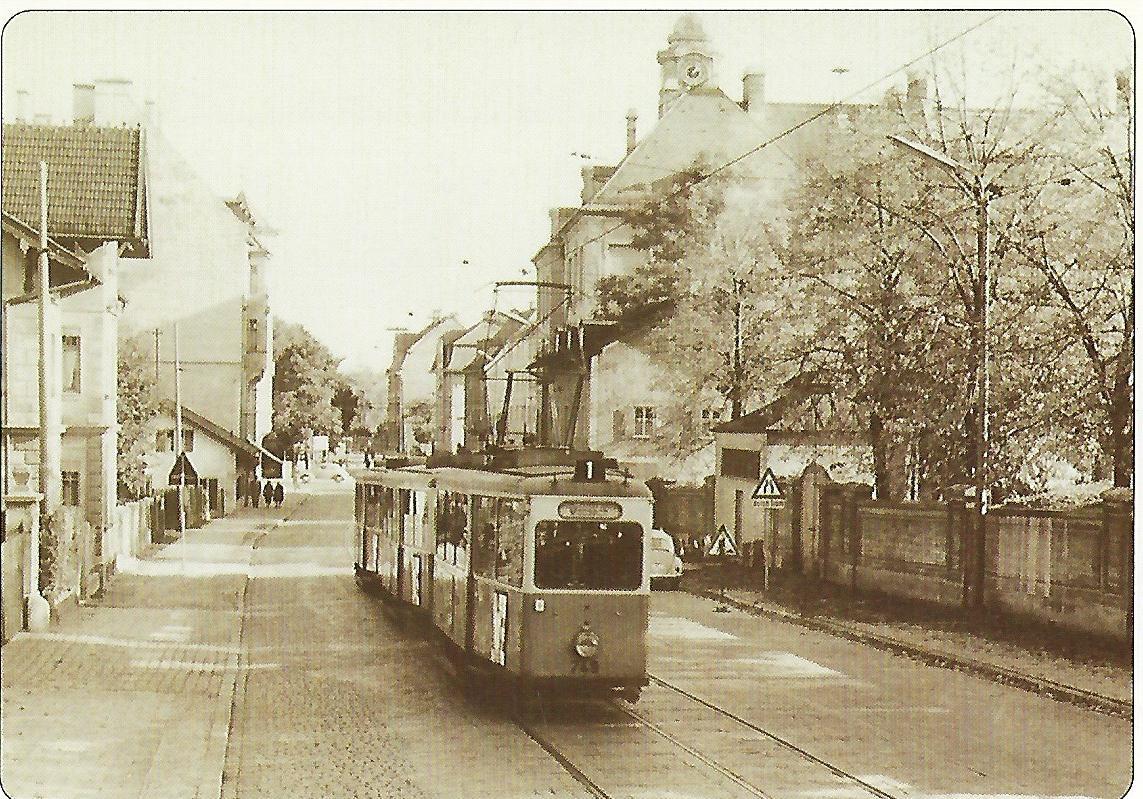 Berg-am-Laim-Straße um 1960. (99106)