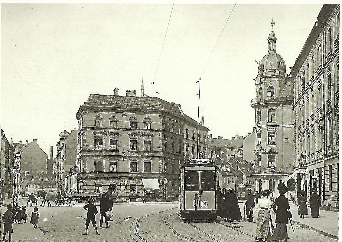 München-Haidhausen 1910. (99312)