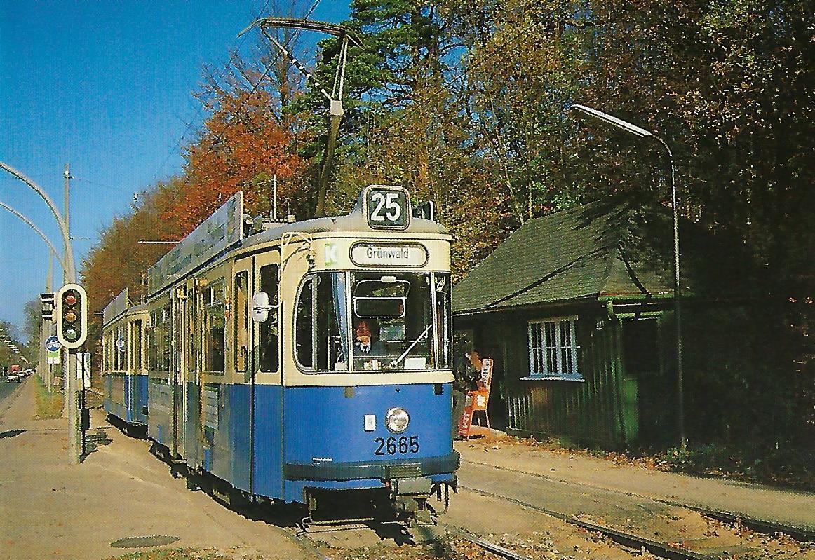 Dreiachs-Großraumzug 2665 an der Menterschwaige. (99507)