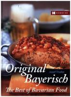 The Best of Bavarian Food